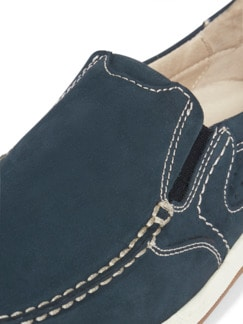 Acitve-Air Nubuk Slipper Blau Detail 4