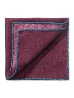 Woll-Einstecktuch Barolo Detail 1