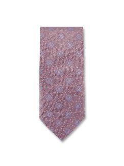 Krawatte Seidenstruktur Rosa Detail 1