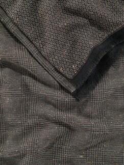2-Seelen-Schal Taupe Detail 3
