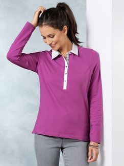 Thermo-Polo Fuchsia Detail 1