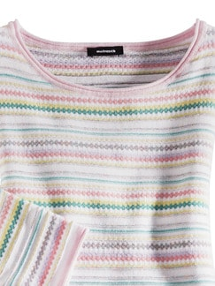 Sommer Cotton Pullover Miami Pastell Multicolor Detail 3