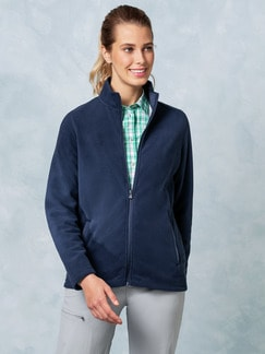 Klepper Fleecejacke Marine Detail 1