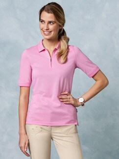 Klepper Easycare Polo Uni Pink Detail 1