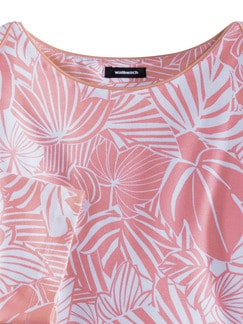 Viskoseshirt Miami Flamingo Detail 3