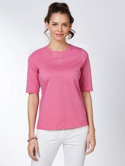 Pima Cotton Shirt Pink Detail 1