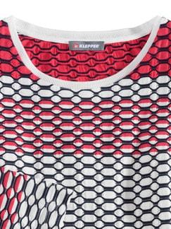 Klepper Easycare Shirt Hibiskus Detail 3