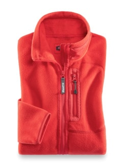Klepper Active Fleecejacke Hibiskus Detail 2