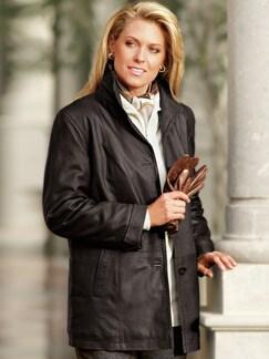 Jacke Leder/Amaretta Dame (Posten) Diverse Detail 1