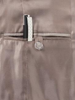 Glencheckblazer Braun/Rostorange Detail 4