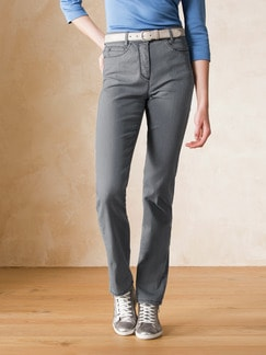 Yoga-Jeans Supersoft Dark Grey Detail 1