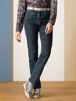 Yoga-Jeans Supersoft Blue Stoned Detail 1