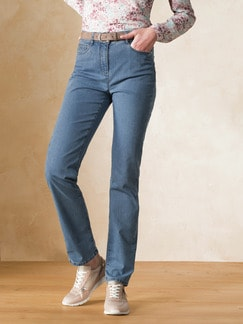 Yoga-Jeans Supersoft Mid Blue Detail 1