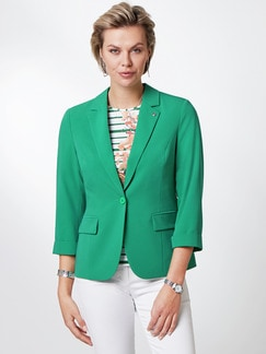 Sommerblazer Wash & Wear Grasgrün Detail 1