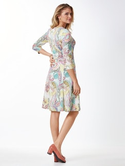 Jerseykleid Sommerpaisley Rosa Multicolou Detail 3