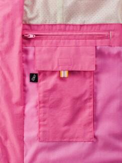 Leichtweste Fernweh Pink Detail 4