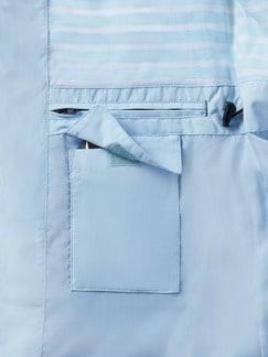 Aquastop-Jacke Segeltörn Eisblau Detail 3
