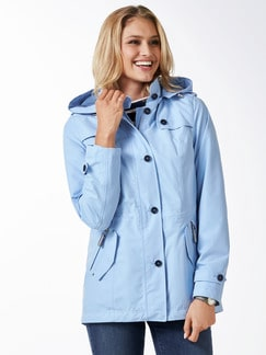 Aquastop Reisejacke skyblue Detail 1