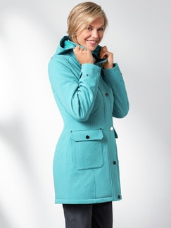 Klepper Softshell-Langjacke Mint Detail 1