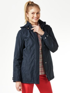 Klepper Aquastop Anorak Navy Detail 1