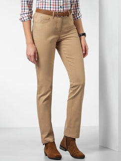 Baumwollhose Clean Protect Caramel Detail 1