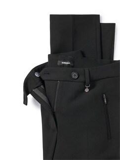 Kofferhose Zauberbund Schwarz Detail 4