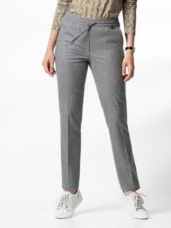 Flanell Jogpant Soft + Easy Grau Melange Detail 1