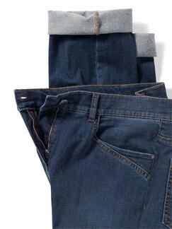 Husky-Jeans Light Dark Blue Detail 4