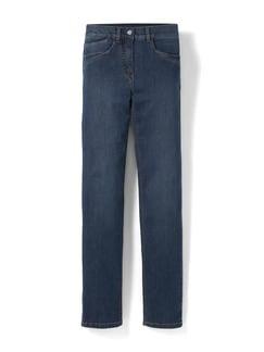 Husky-Jeans Light Dark Blue Detail 2