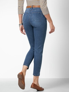7/8 Coolmax Jeans Blue Stoned Detail 4