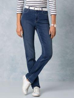 Ultraleicht-Jeans Midblue Detail 1