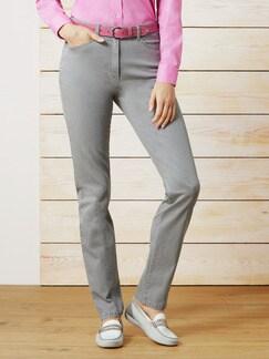 Raphaela by Brax Magic Waist Jeans Silbergrau Detail 1