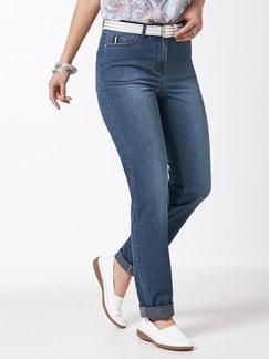 Ultraleicht-Jeans Mid Blue Detail 1