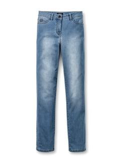 Ultraleicht-Jeans Light Blue Detail 2