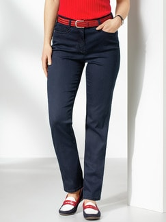 Passform Jeans Feminine Fit Dark Blue Detail 1