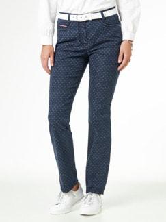Jacquard Jeans Middark Detail 1