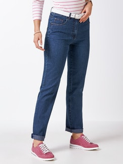 Highstretch Jeans Blue stoned Detail 1