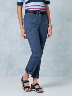 Klepper Baumwoll-Funktionshose Jeansblau Detail 1