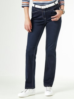 Powerstretch Jeans Dark Blue Detail 1