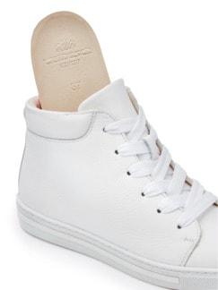 Reißverschluss-City Sneaker High Weiß Detail 3