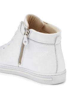 Reißverschluss-City Sneaker High Weiß Detail 4
