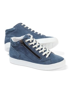 City HighTop Sneaker Marine Detail 1
