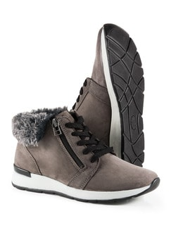 Sneaker-Stiefelette Taupe Detail 1