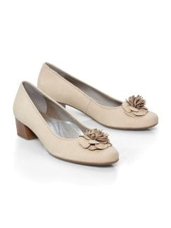 Klassik-Pumps Beige Detail 1