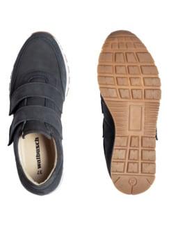 City-Klett-Sneaker Jeansblau Detail 2