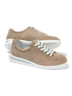 City-Sneaker Taupe Detail 1