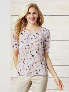 Shirtbluse Porcellana Multicolor Detail 1
