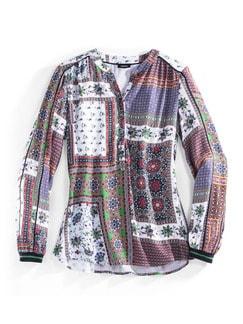 Shirtbluse Foulard Print Multicolor