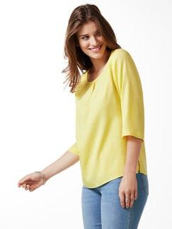 Tencel-Shirtbluse Sommerfrische Gelb Detail 1
