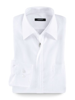 Extraglatt-Hemd Reißverschluss